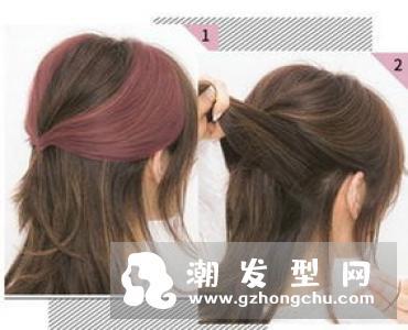无刘海苹果头这样扎最好看 最适合懒人扎的简单漂亮头发